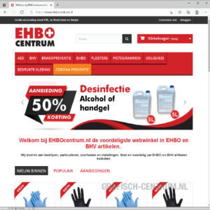 ehbocentrum website