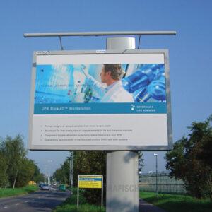 reclameborden groot