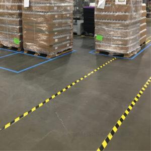vloer belijning veiligheid logistiek