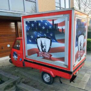 vrachtwagen belettering amerika